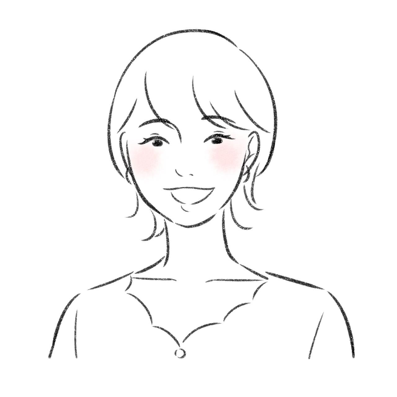 アトムストーリー新井 日向子の似顔絵
