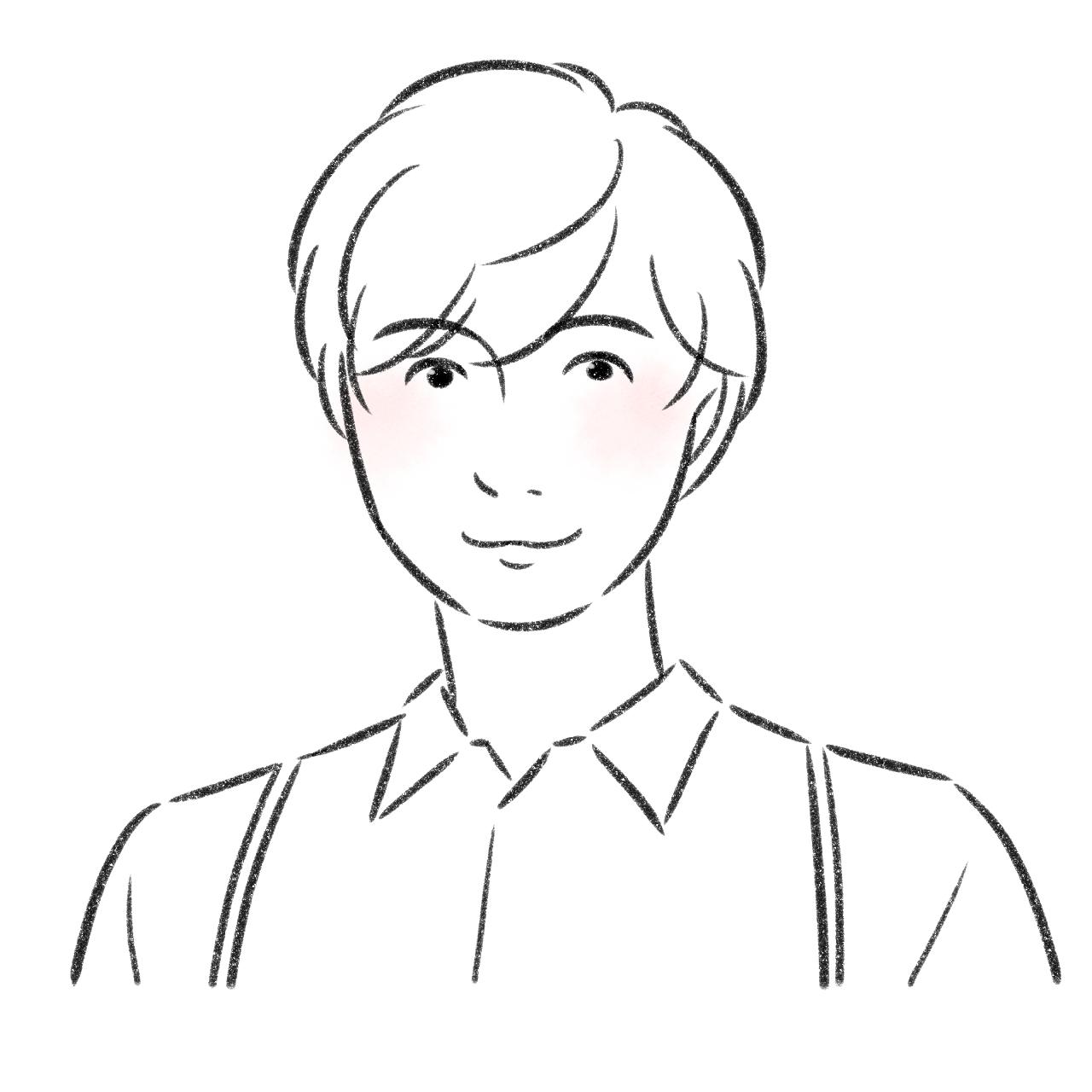 アトムストーリー宮崎 伸一郎の似顔絵