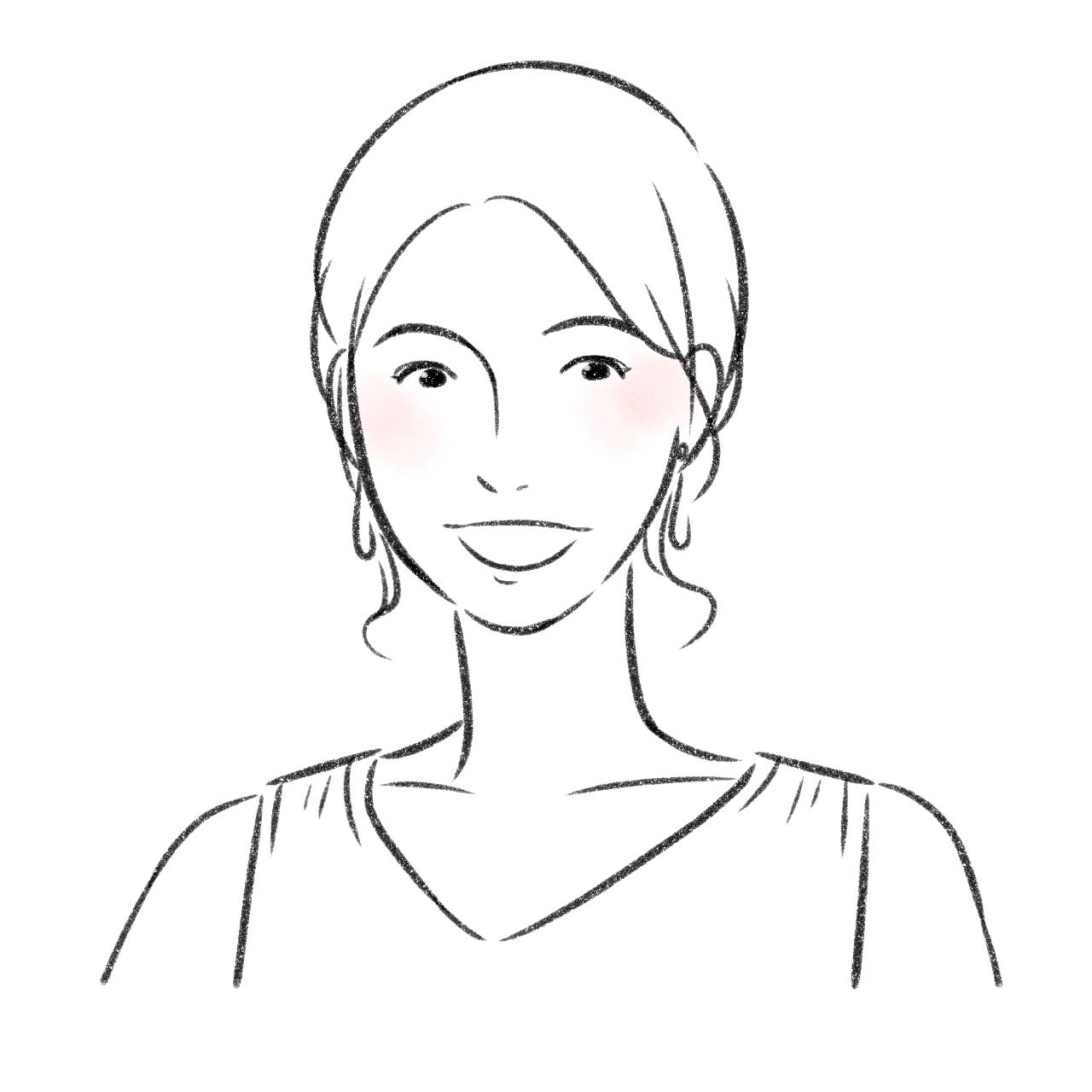 アトムストーリー伊藤 朋子の似顔絵