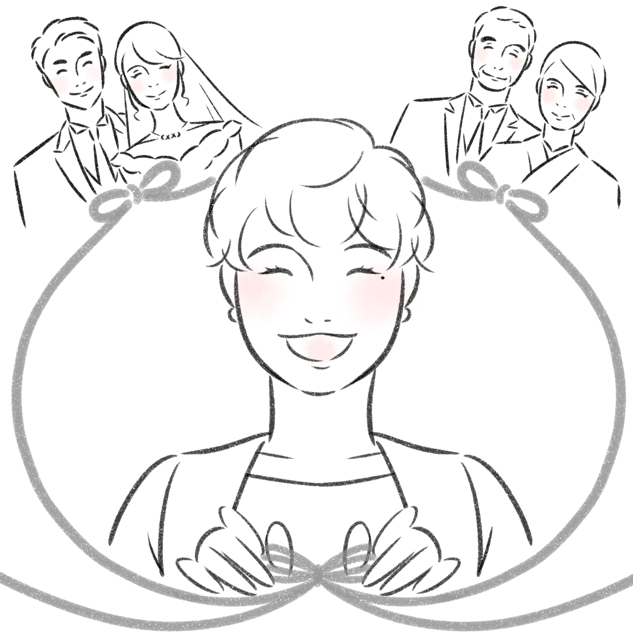 アトムストーリー伊良部 こまきの仕事に対する想いイラスト